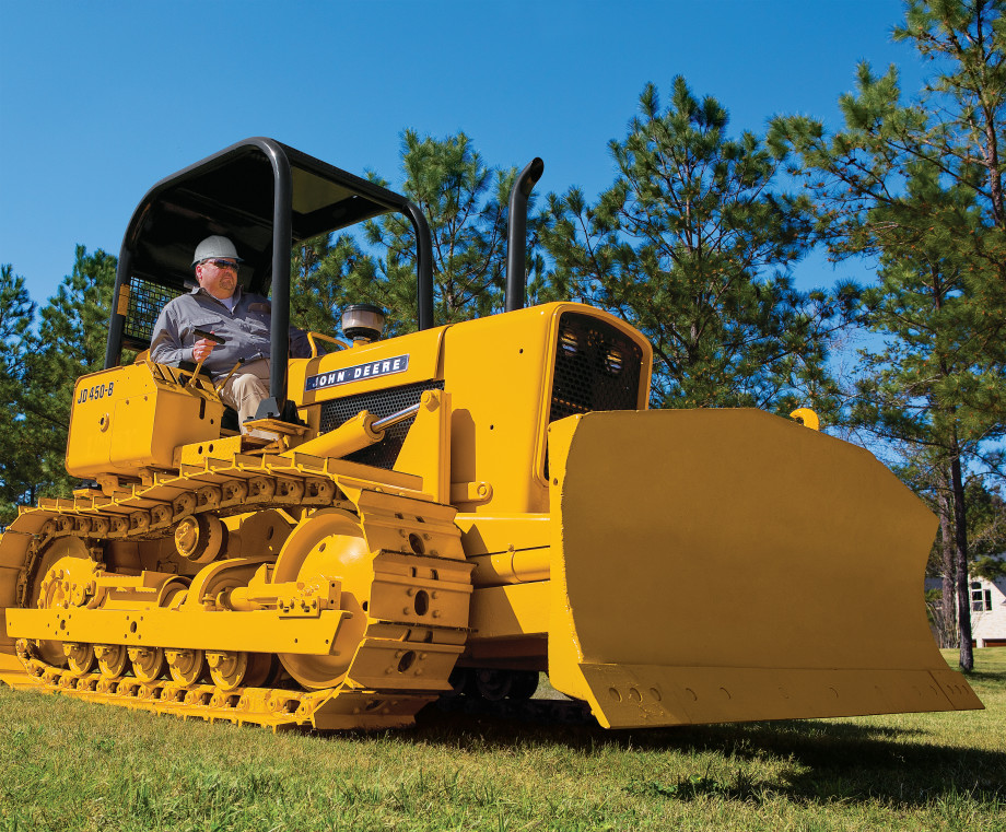 Love Story A Man And His Dozer The John Deere Journal