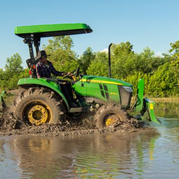3036E Tractor_Rice_Farming