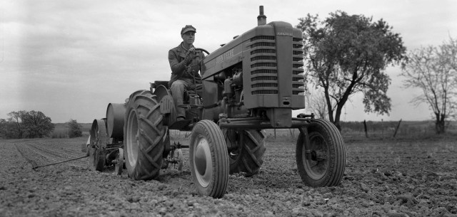 "Model ""M"" Tractor was New from the Ground Up"