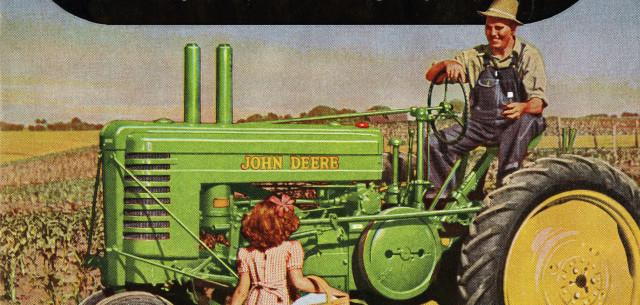Vintage Tractor Ad Rekindles Memories