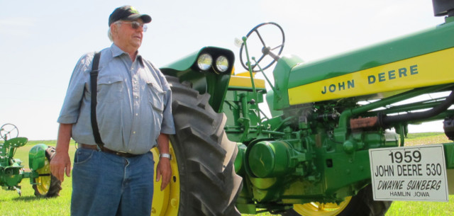No other brand for this Iowa farmer