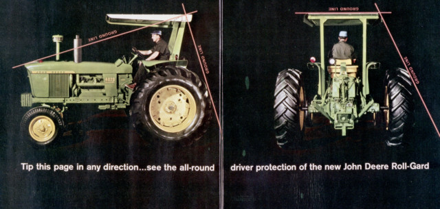 Tractor Rollover Protection Structure Displayed at Museum