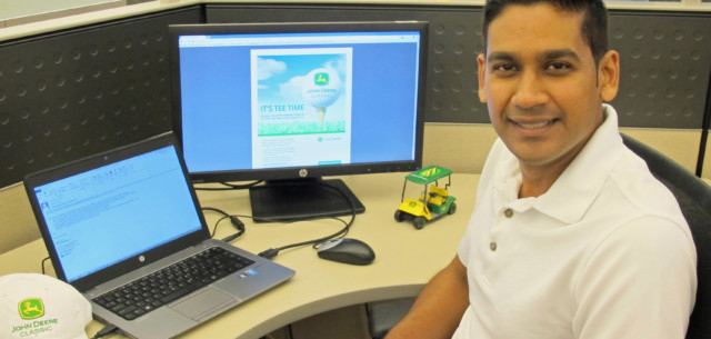 IT Analyst Donates Skills to Improve John Deere Classic Computer Systems
