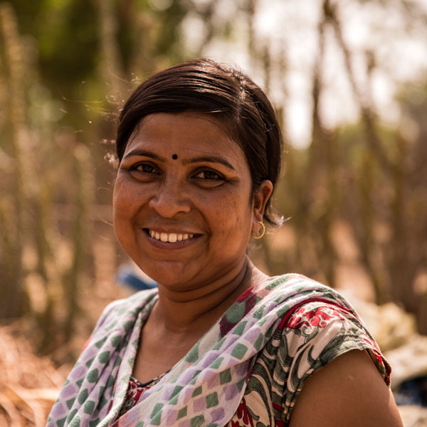 Neeta Kumawat has served as field coordinator in Morra since 2013, with a passion for education that is contagious among villagers.