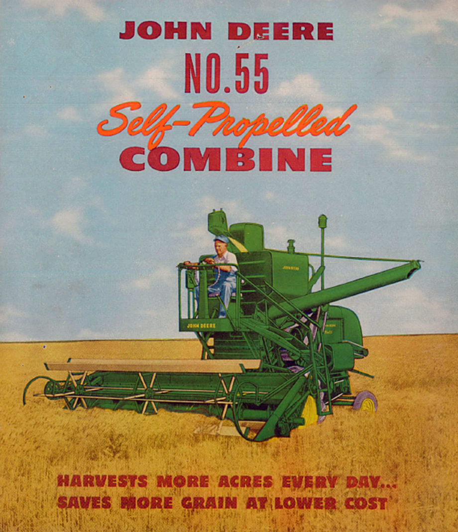 Out of the Vault Series: 55H Combine | The John Deere Journal