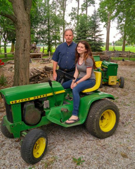 Oldest John Deere Lawn Tractor : Mow the line john deere journal