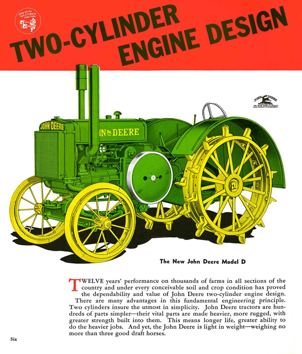 Why Two Cylinders? | The John Deere Journal