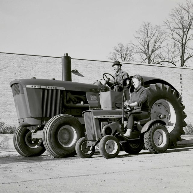 The 110 Lawn And Garden Tractor A Brand Story The John Deere Journal