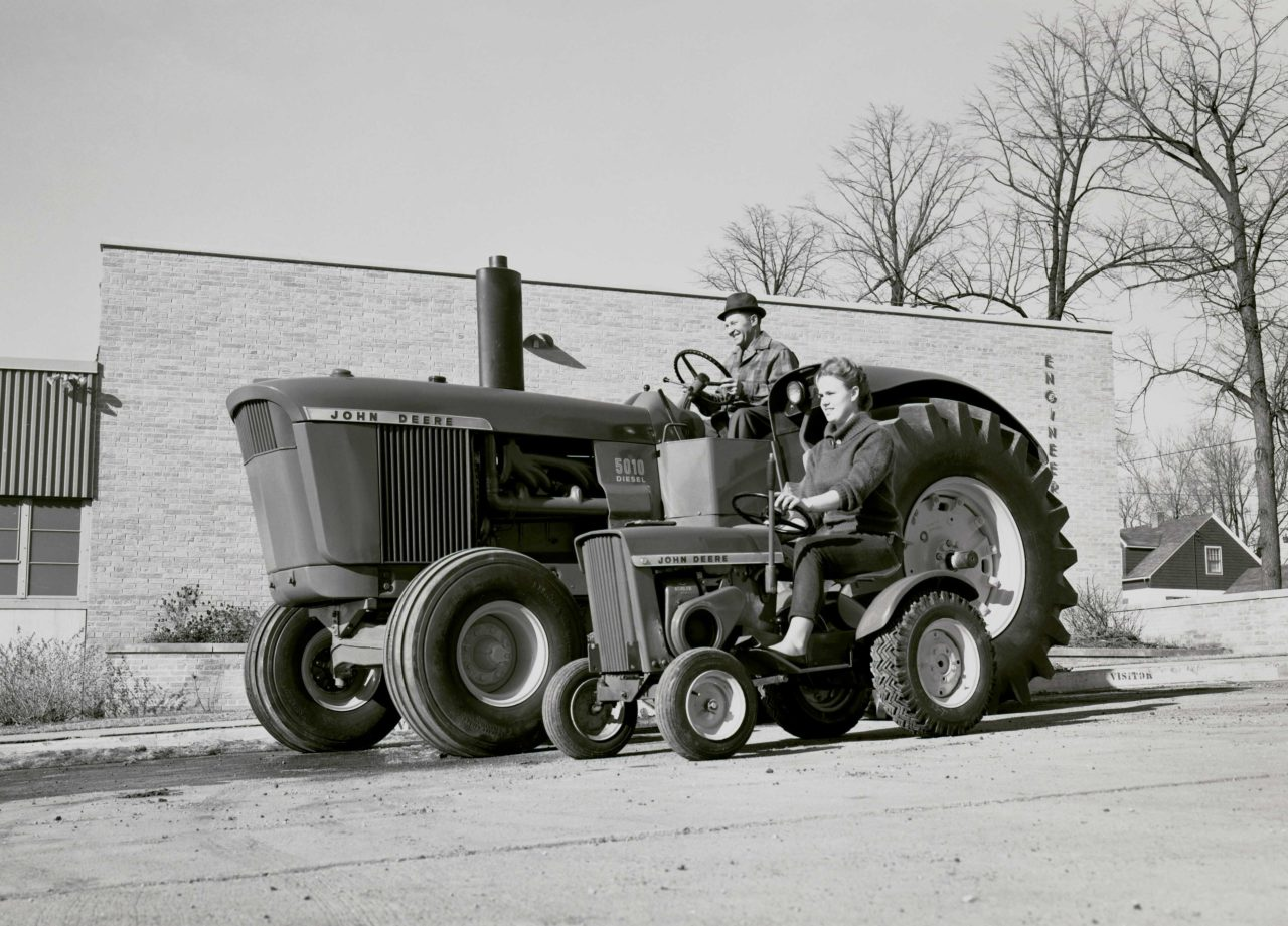 The 110 Lawn And Garden Tractor A Brand Story The John Deere