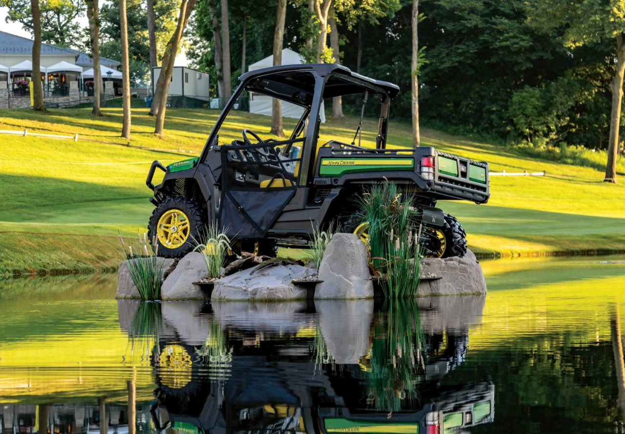 deere equipment shows more attitude at the john deere classic the