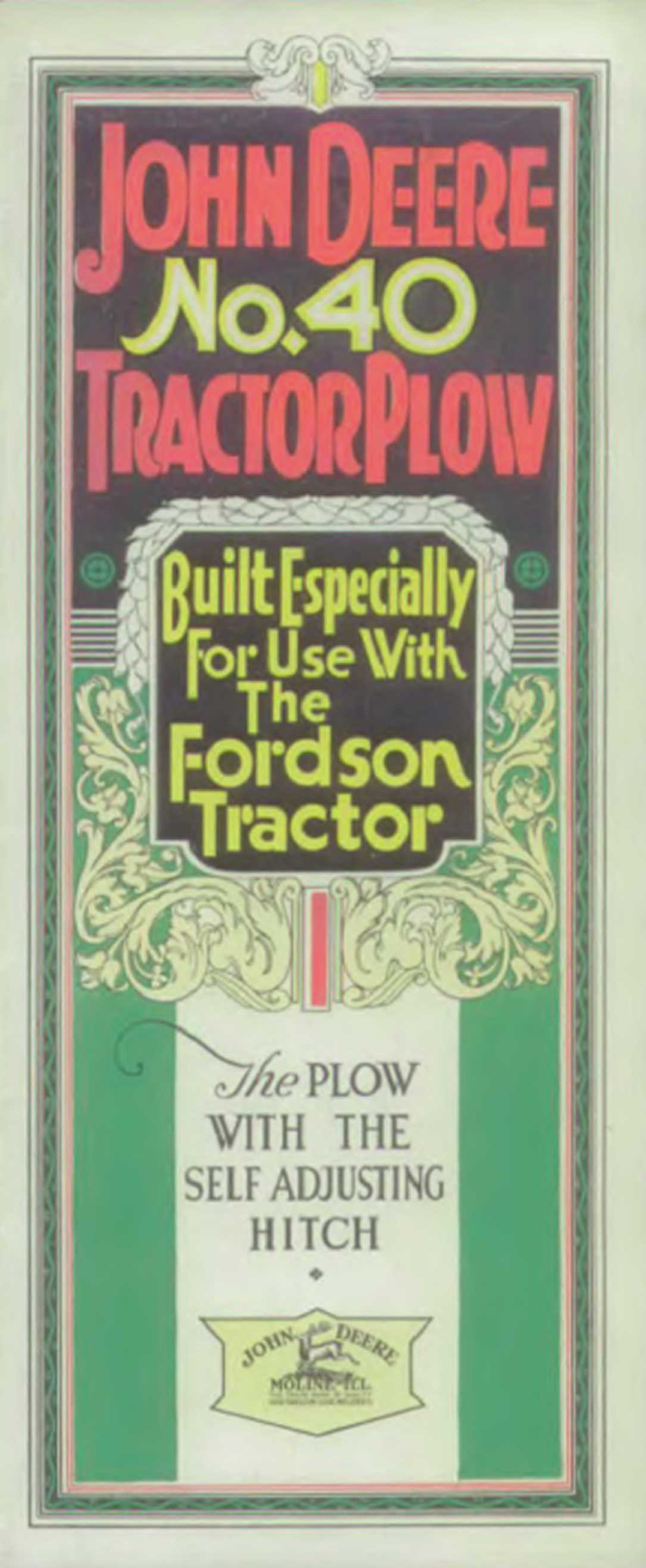 Lessons In The How Deere Visits Henry Ford John Journal 5000 Tractor Electrical Wiring Diagram Produced Plows For Fordson Tractors But Not Exclusively And Limited Numbers