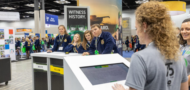 FFA Convention Highlights Deere Relationship, Young Future of Agriculture