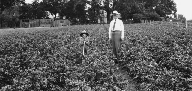 Dr. W.E. Taylor and the Future of Farming
