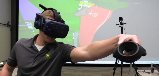 Using Virtual Reality to Build the Next Generation Tractor