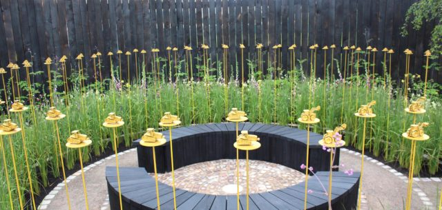 Award-Winning John Deere Garden Gets Transplanted