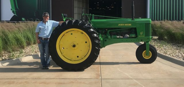 Restored Family Heirloom Goes on Display at Tractor Museum