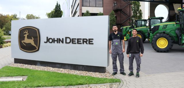 The Apprentice: John Deere Helps Refugees in Germany