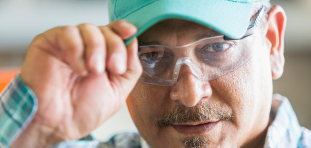 John Deere donates protective eyewear