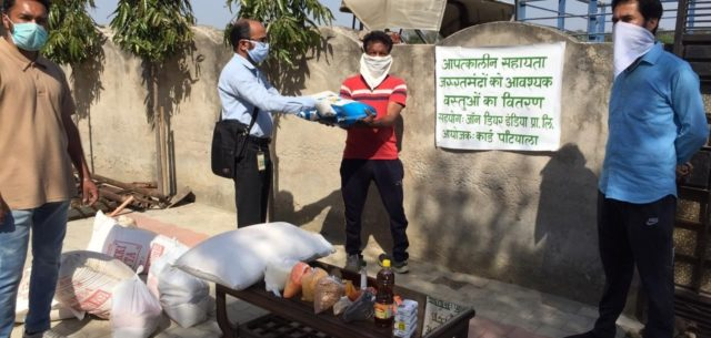 John Deere India employees open their hearts to help those in need